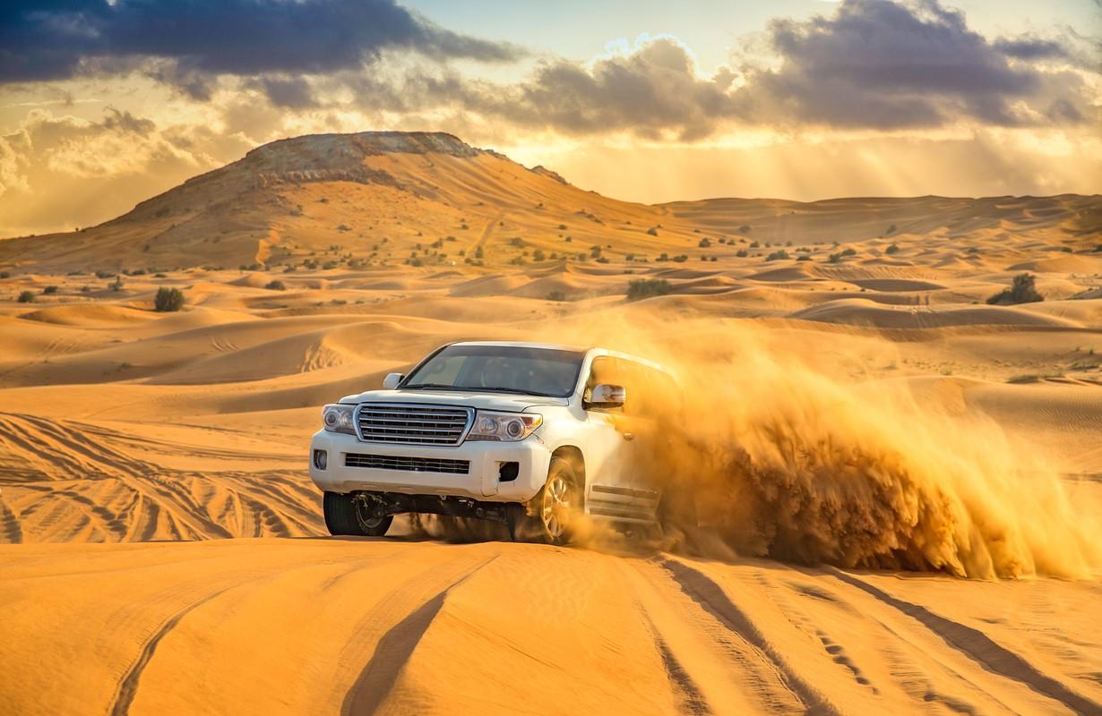 Offroad desert safar