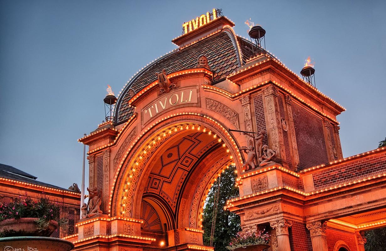 Tivoli in Copenhage