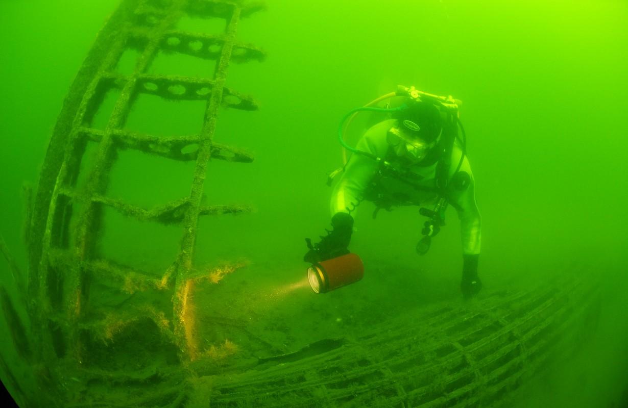 Wreckdiving Karlskrona