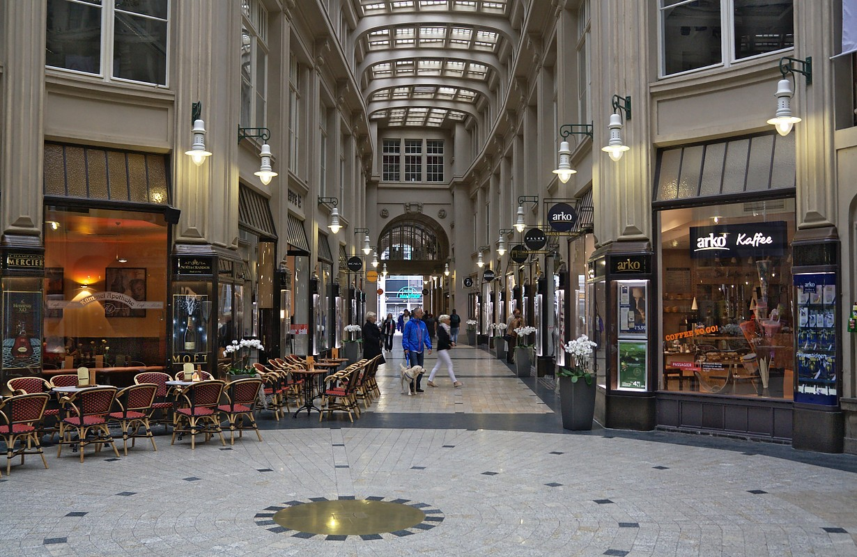 Madler Passage in Leipzig