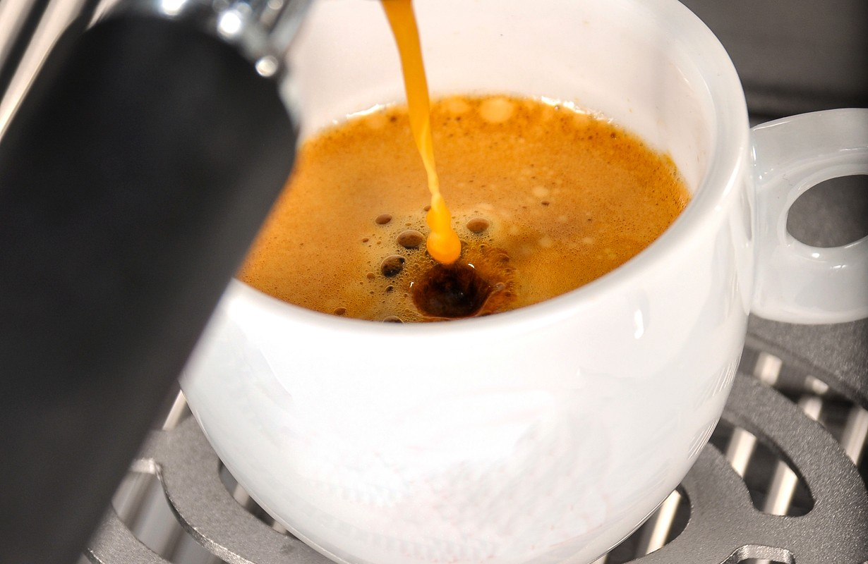 the real and delicious italian coffee