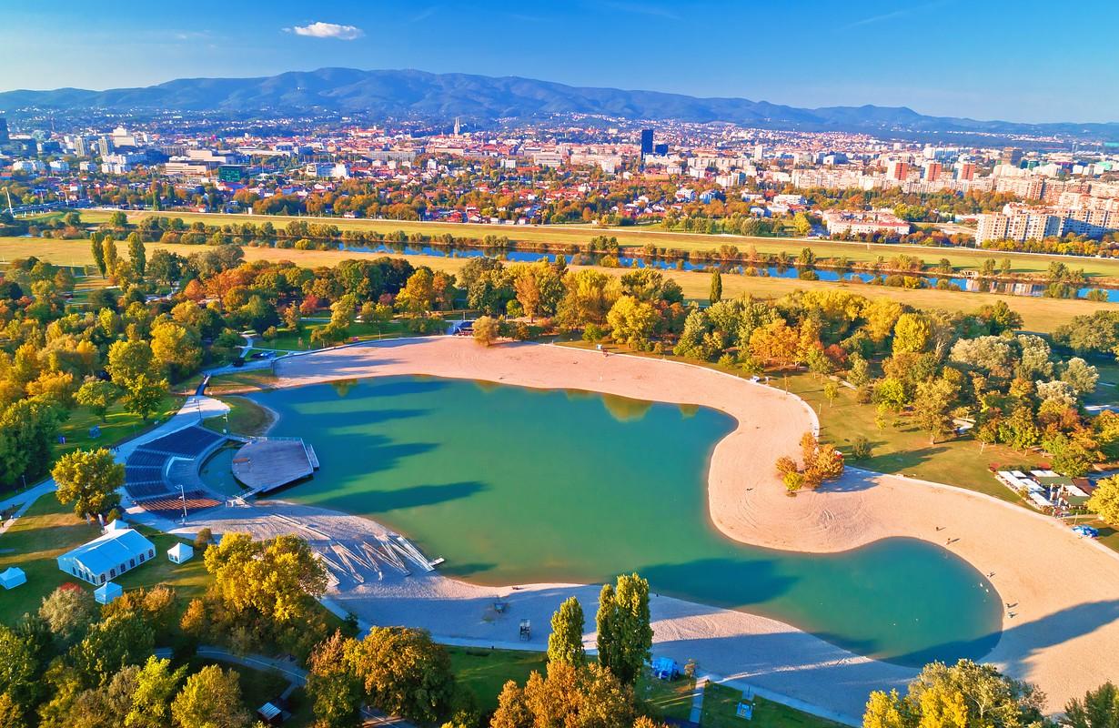 Bundek lake, Zagreb