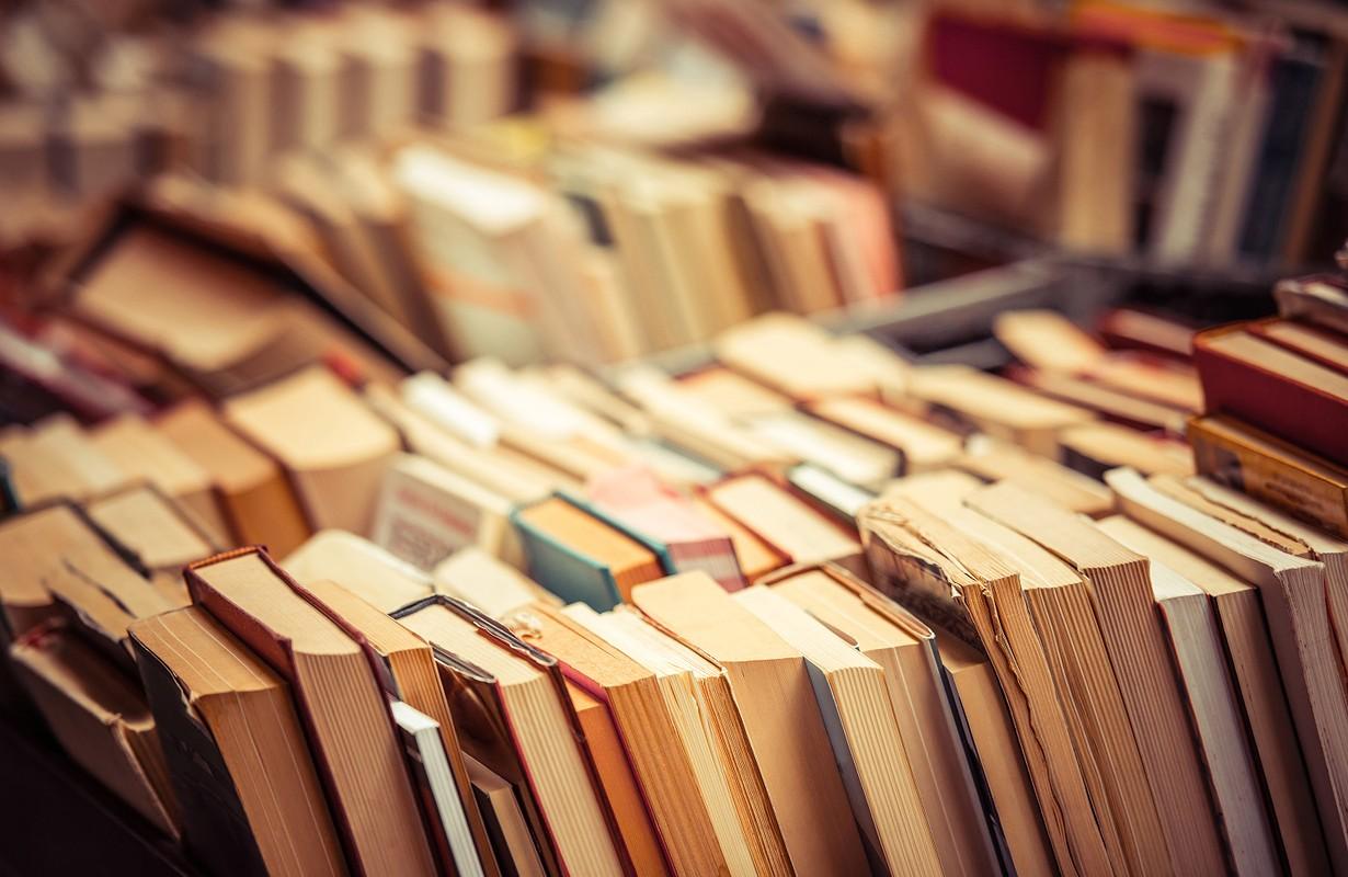 Books at market