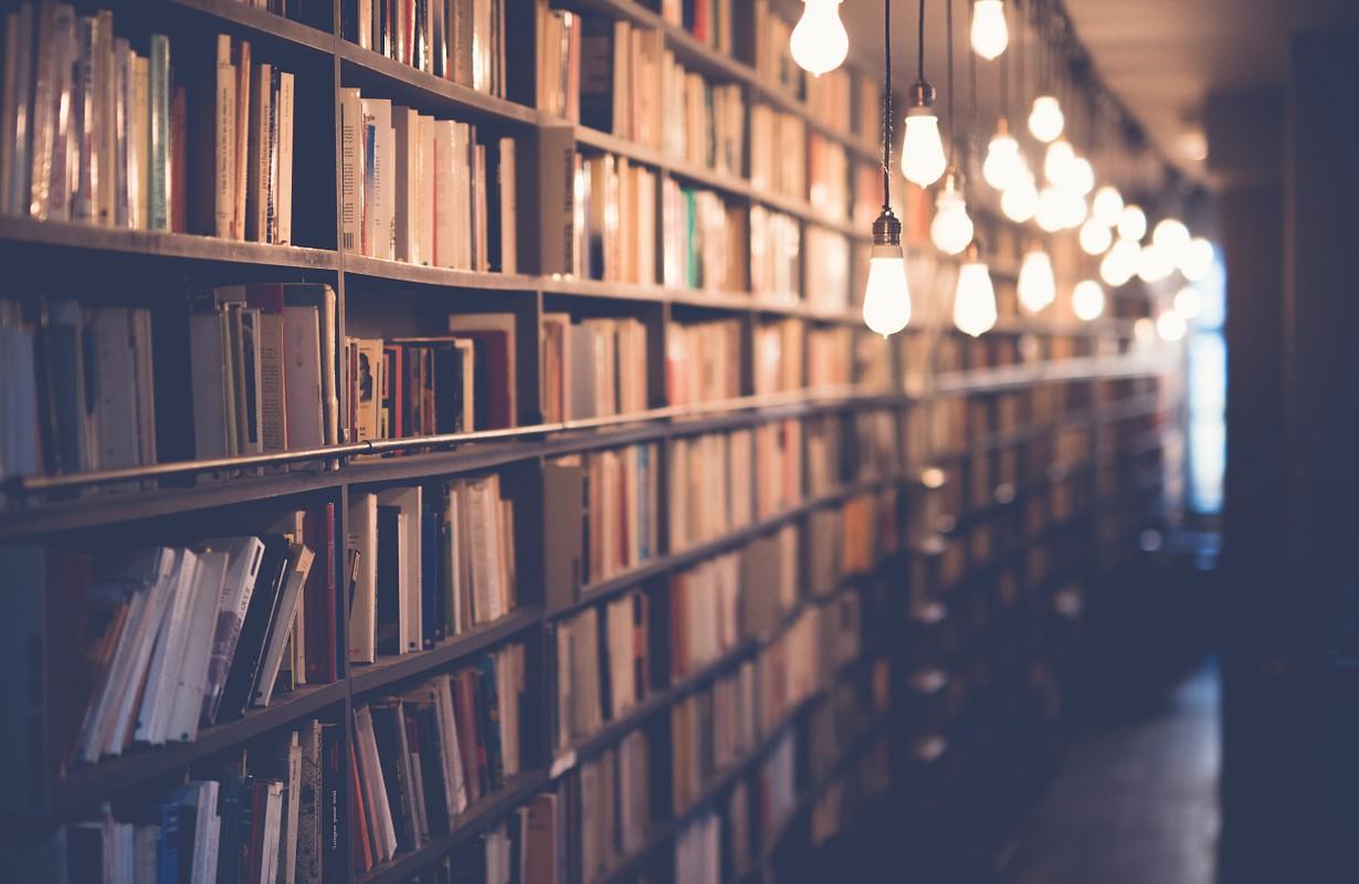 Bookstore in San Diego, USA