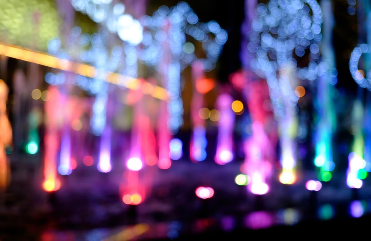 Fountain show concept