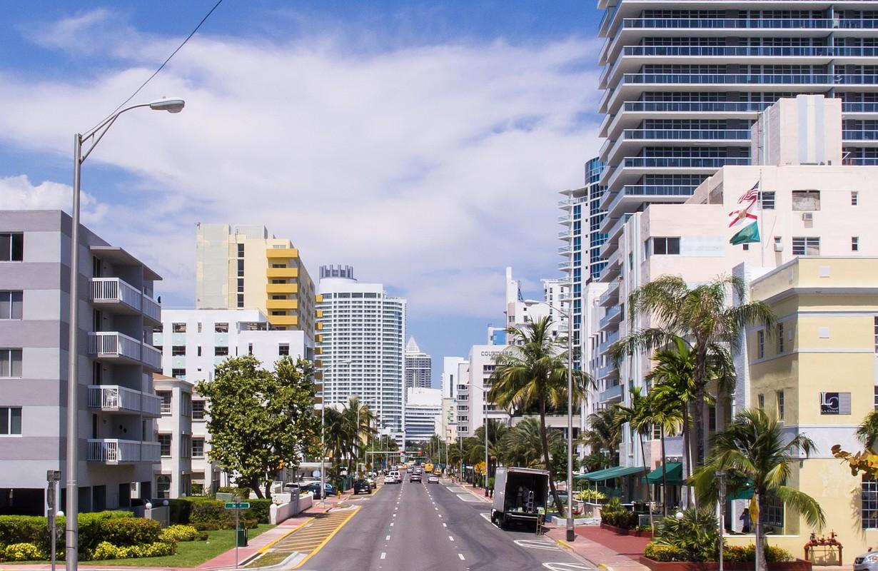 Collins Avenue in Miami Beach