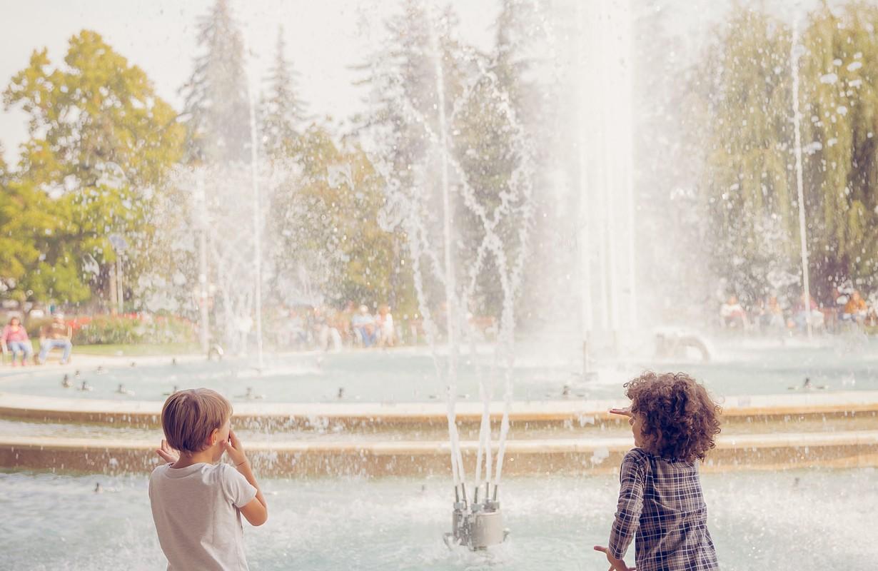 margitsziget margaret island budapest fountain