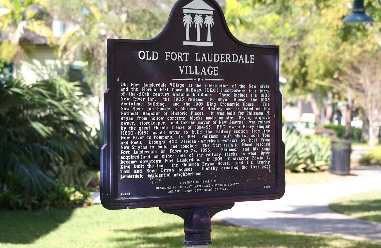 Fort Lauderdale sign