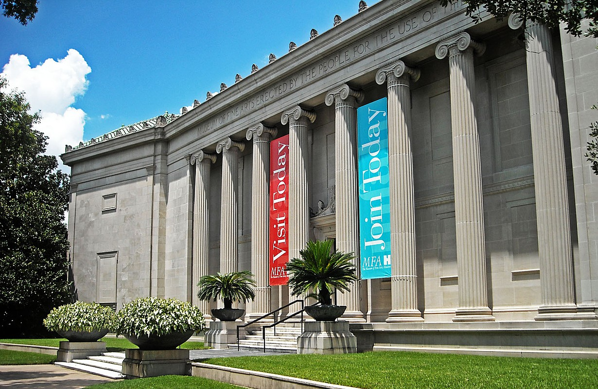 Museum of Fine Arts in Houston - Texas, USA