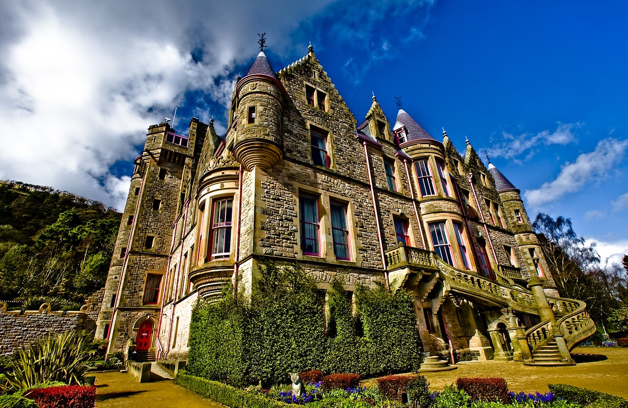 beautiful belfast castle