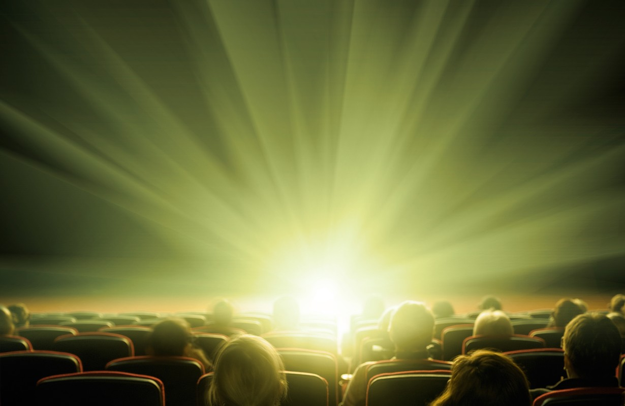 cinema, entertainment and people