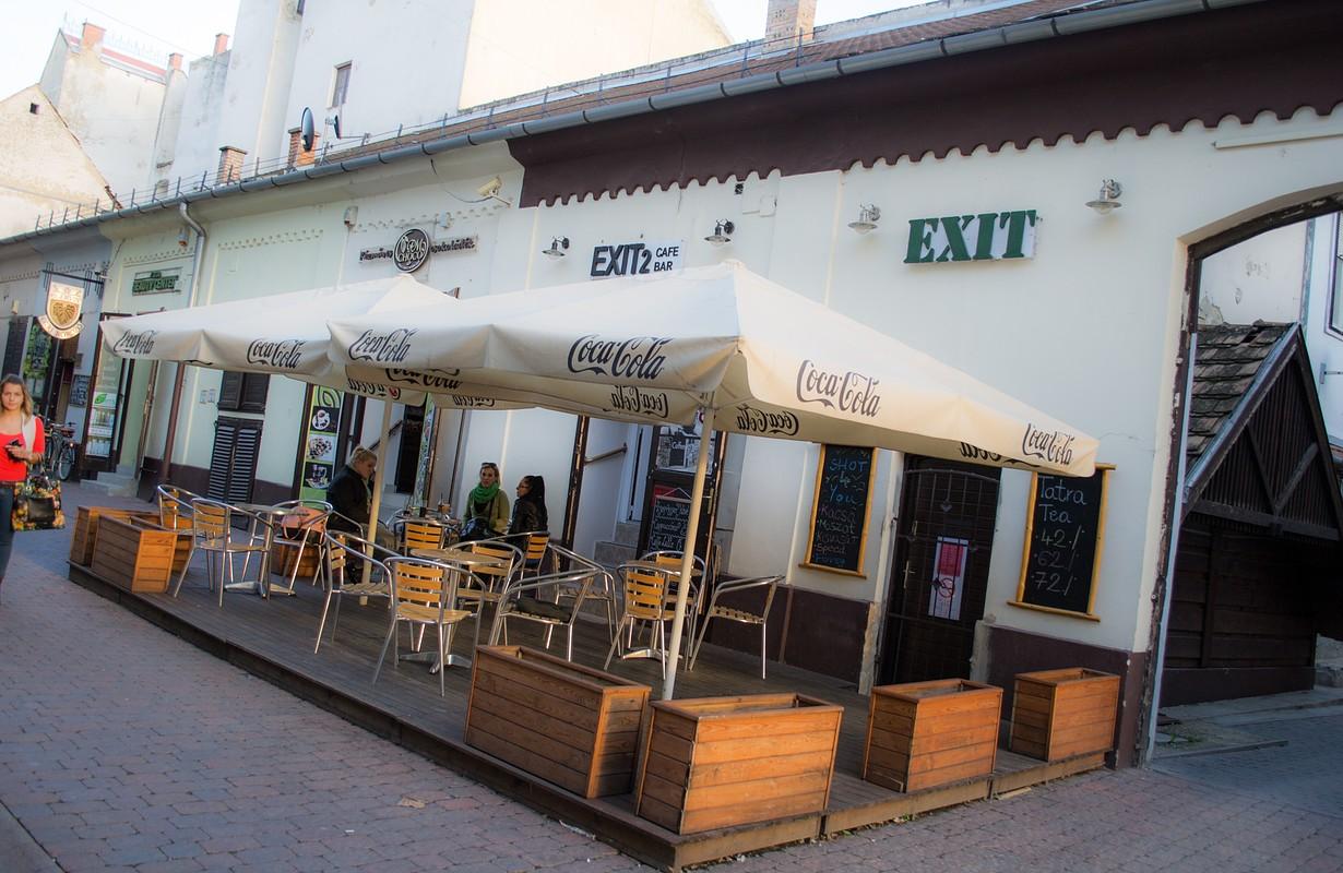 Exit Bar