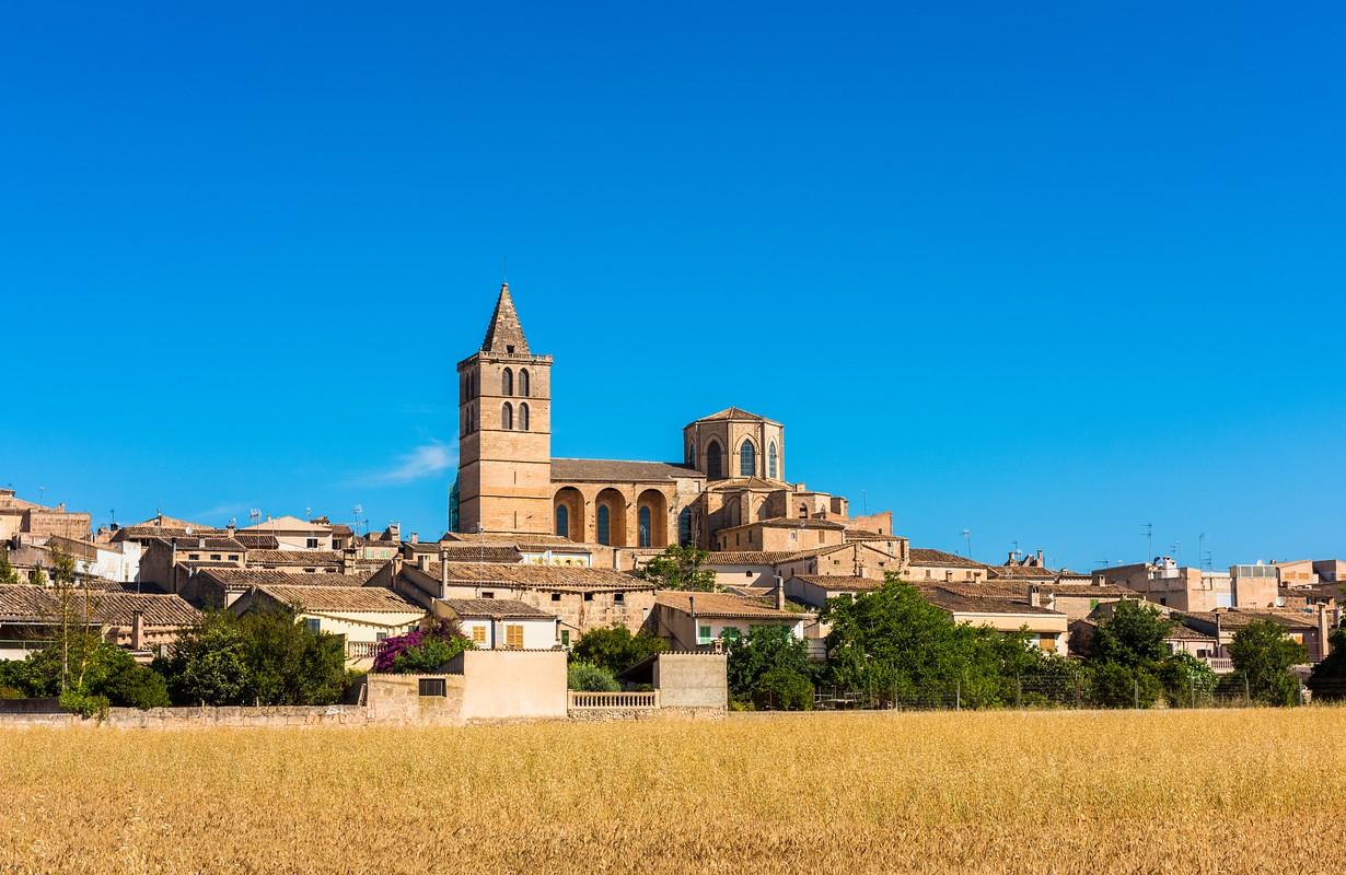 View on Sineu Mallorca