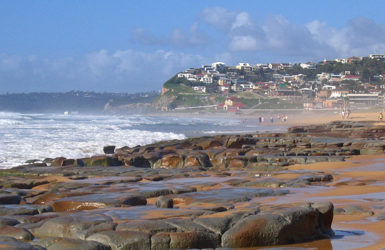 Merewether from Bar Beach