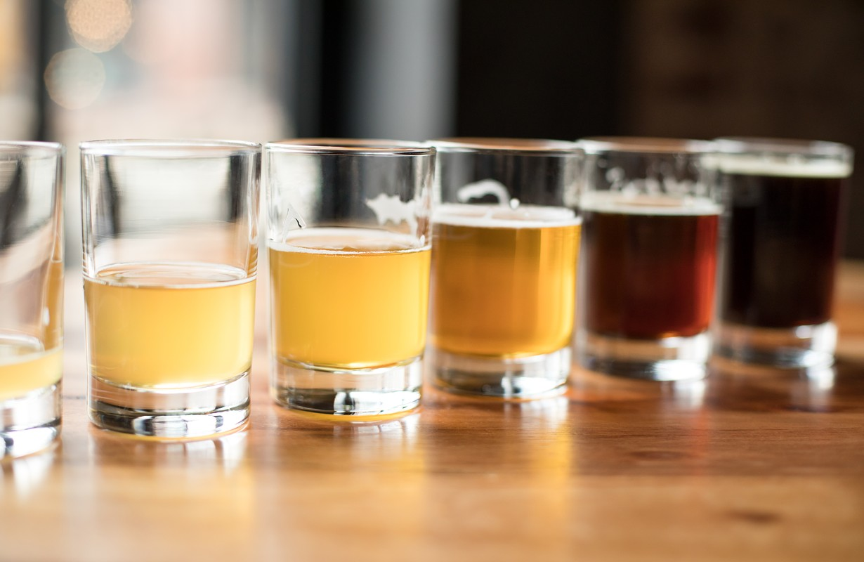 Beer tastings at different microbreweries in Pilsen, Czech Republic