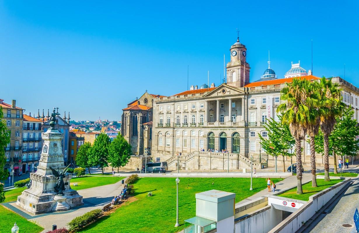 Palacio de Bolsa, the Stock Exchange Palace, in Porto