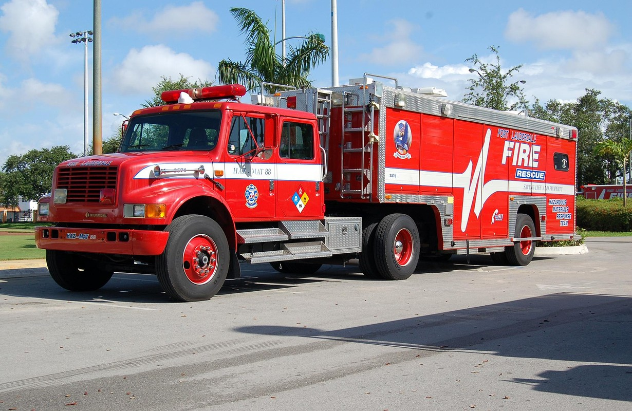 FL fire truck