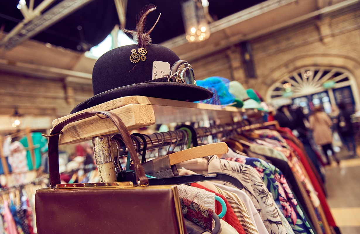 Vintage clothes in San Diego, USA