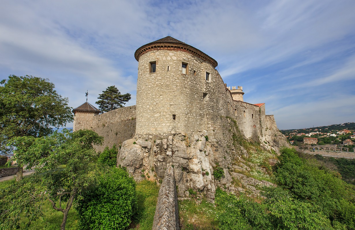 Tower of Trsat castle in Rijeka, Croatia