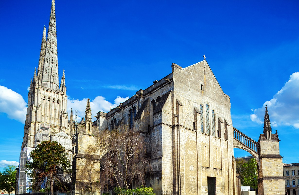 Saint Andre Cathedral (11th-15th c.), Bordeaux, France