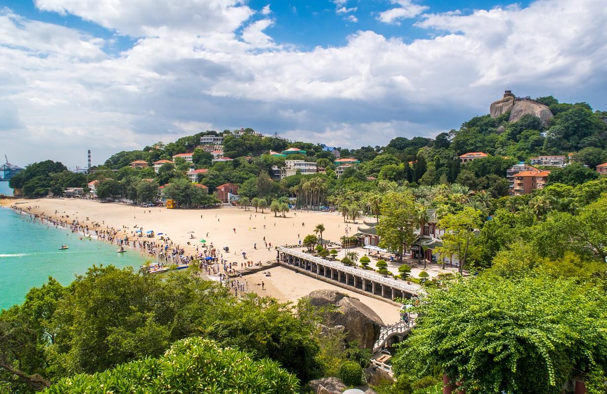 Gulangyu beach, Xiamen, China