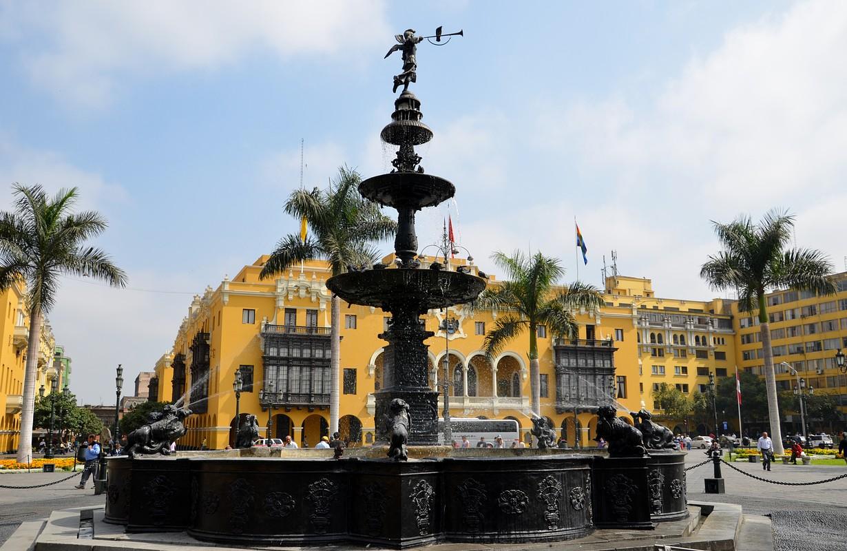 Lima, Peru - Plaza de Armas