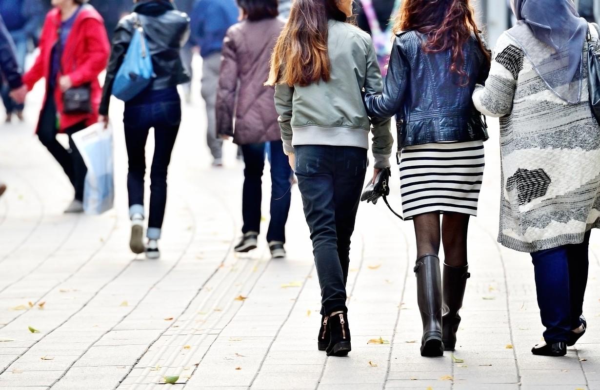Scandinavian pedestrians