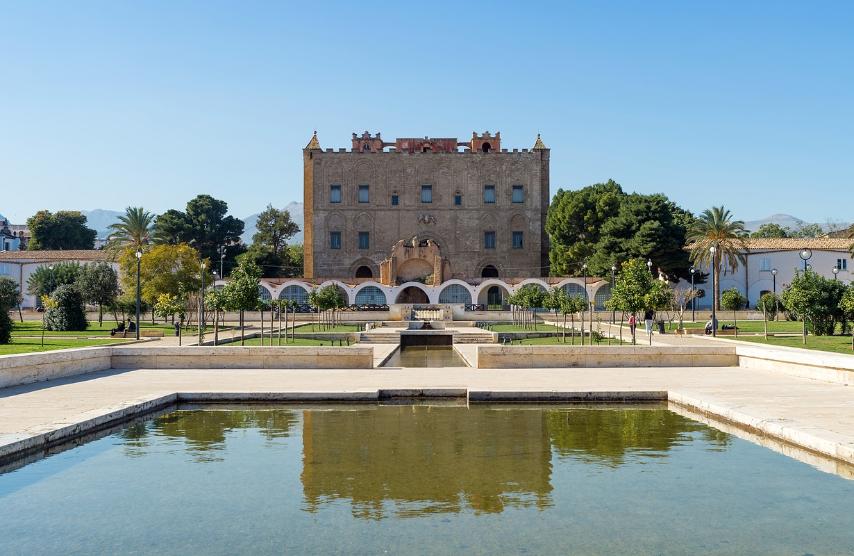 The Zisa is a castle in Palermo, Sicily and is a structure of Arab-Norman and is clearly inspired by Moorish architecture