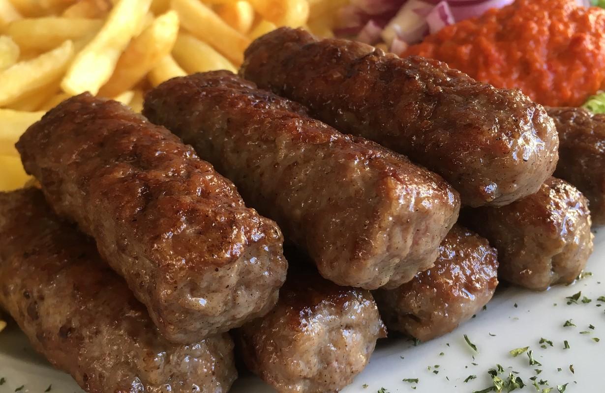 Cevapcici Croatian Specialty