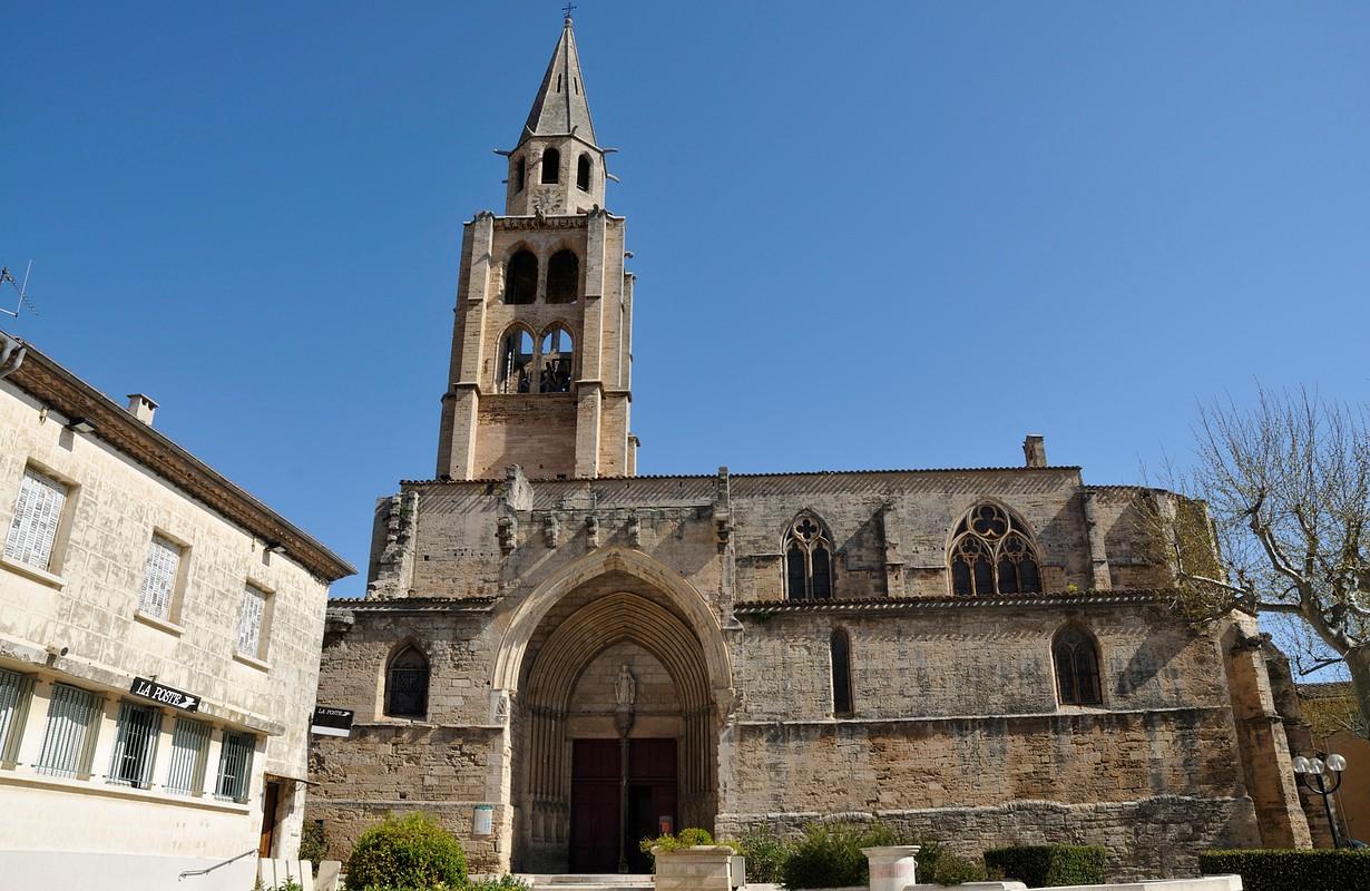 Montagnac, medieval church