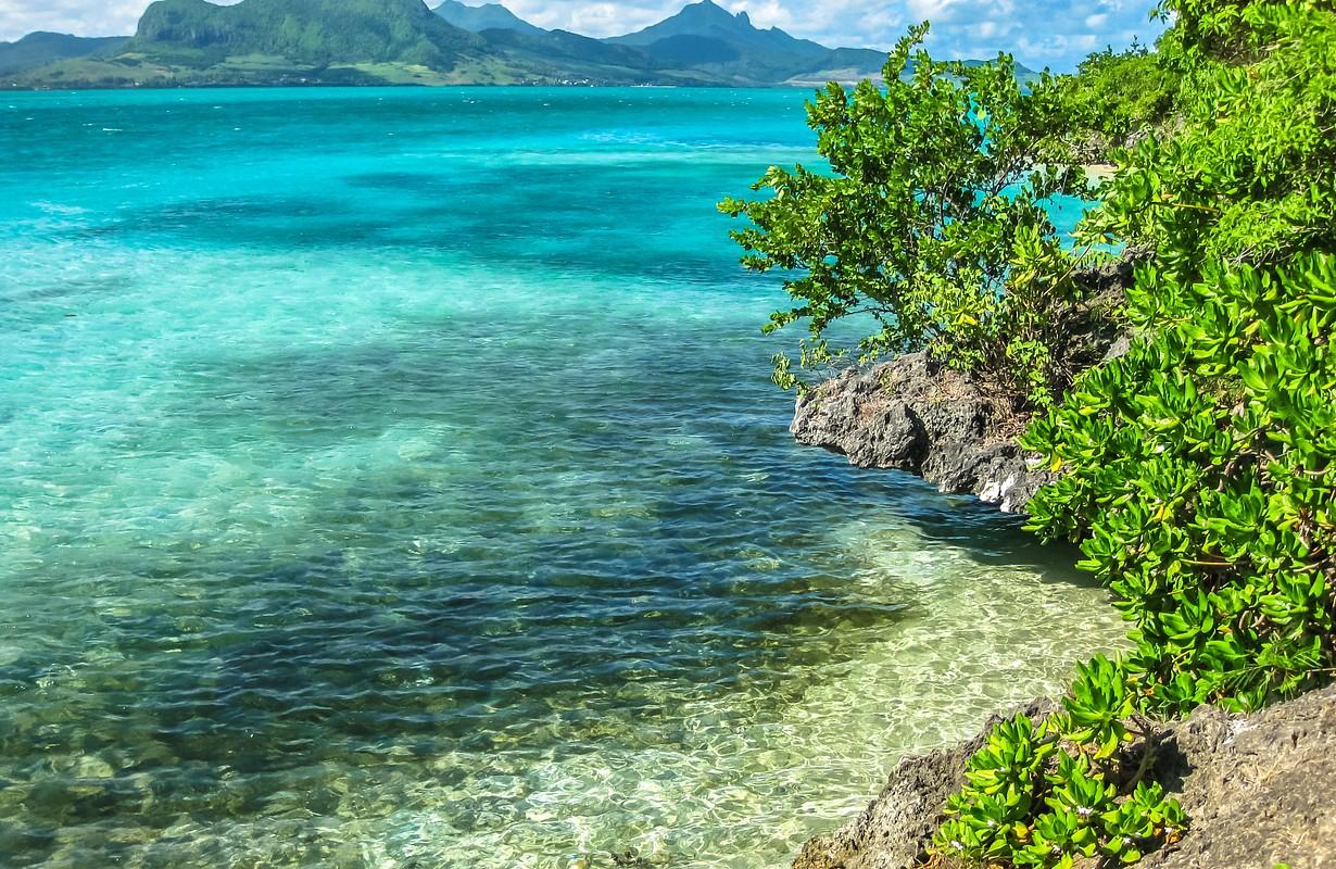 Île aux Aigrettes at Mauritius