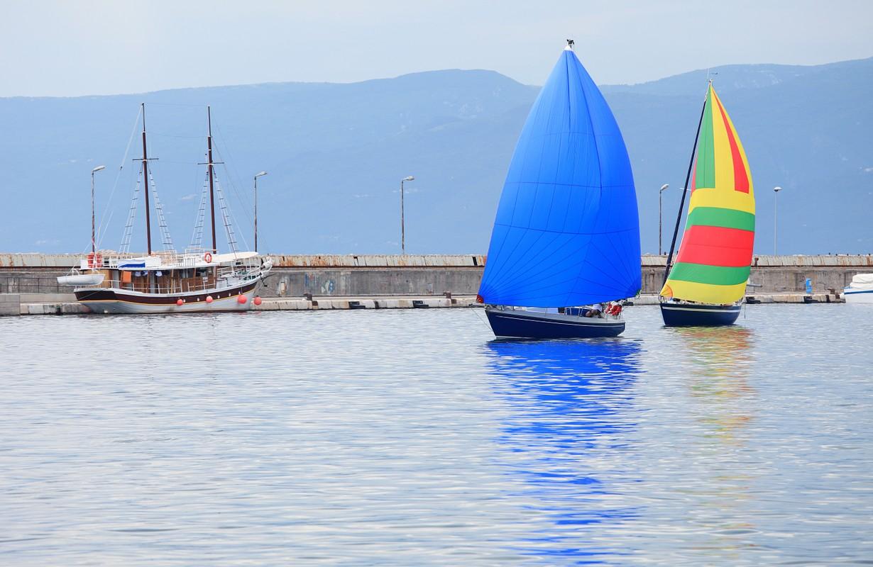 Regatta in Rijeka harbor
