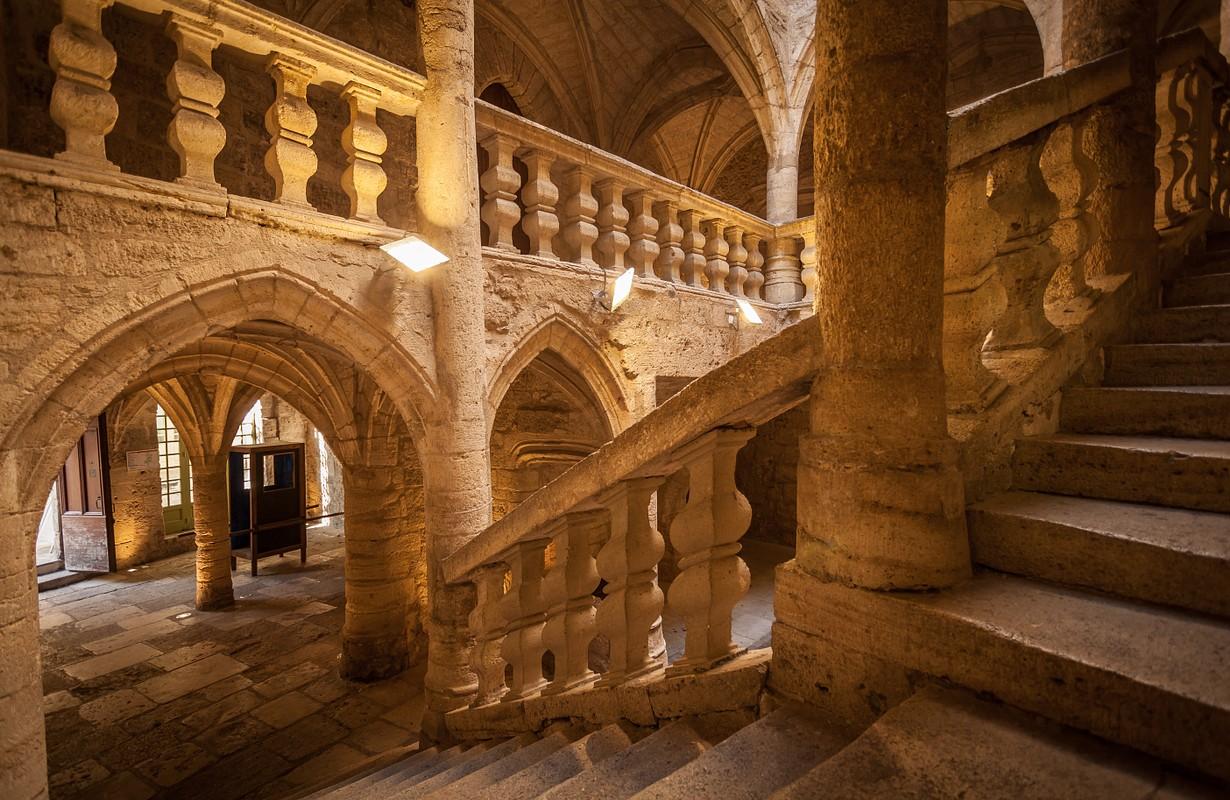 Pézenas, hôtel des Barons de Lacoste