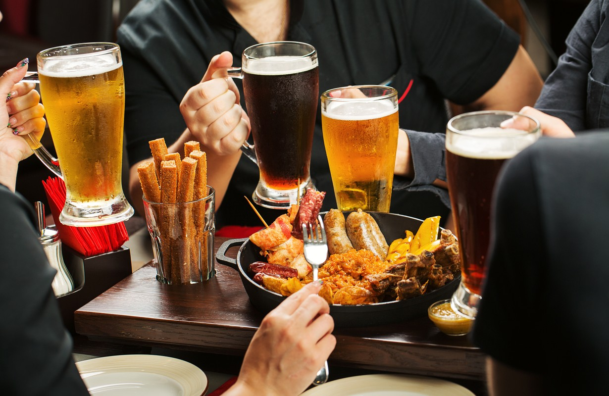 Beers and food