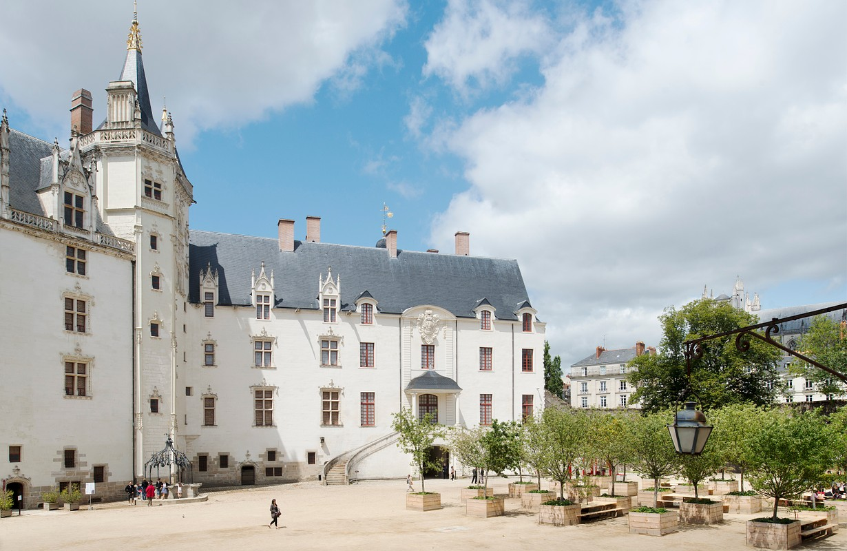 Castle of the dukes of Brittany VAN