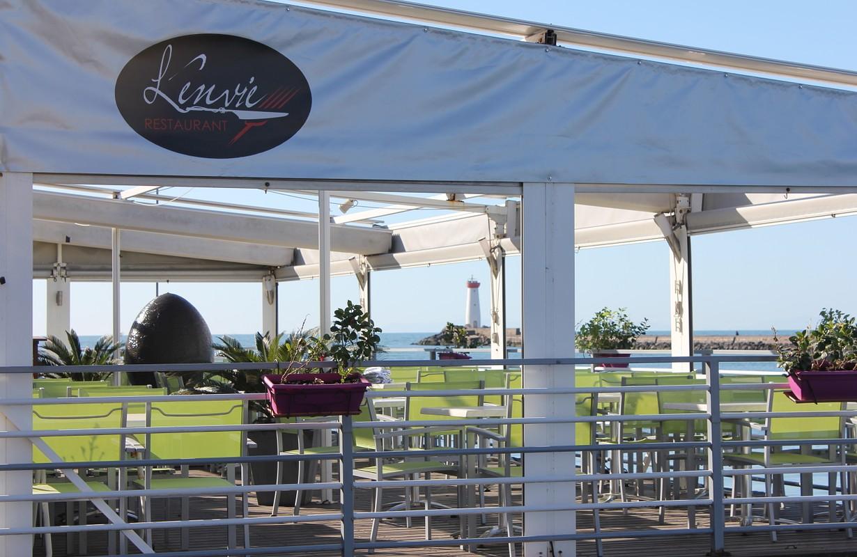 Cap d'Agde, restaurant l'Envie