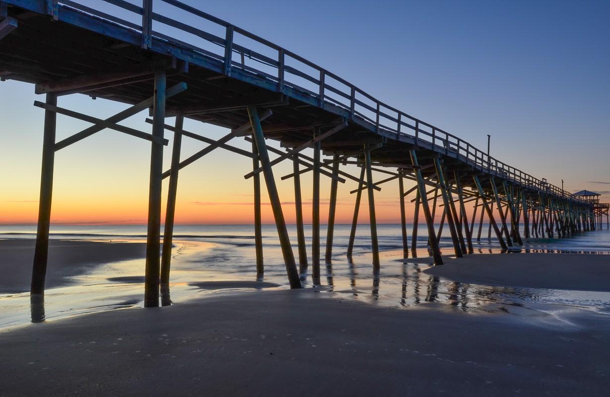 Atlantic Beach Pier Sunrise II