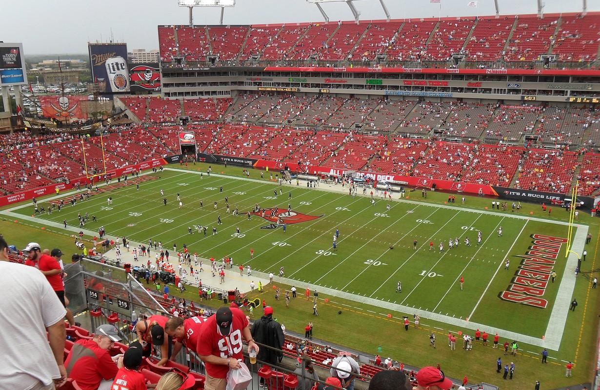 Raymond James Stadium in Tampa