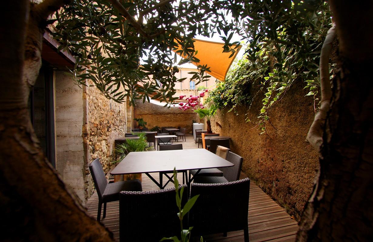 Pézenas, restaurant l'Entre Pots