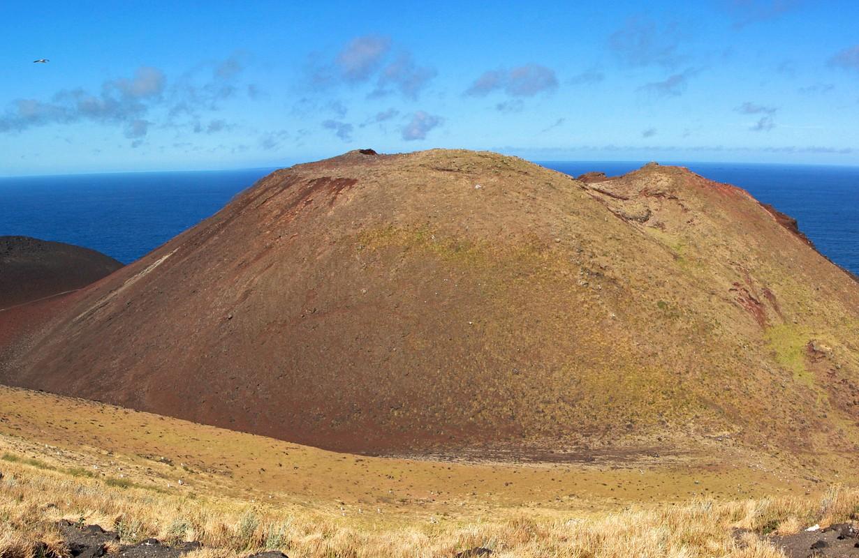 Ilha do Faial, Açores. Le volcan de Capelinhos.