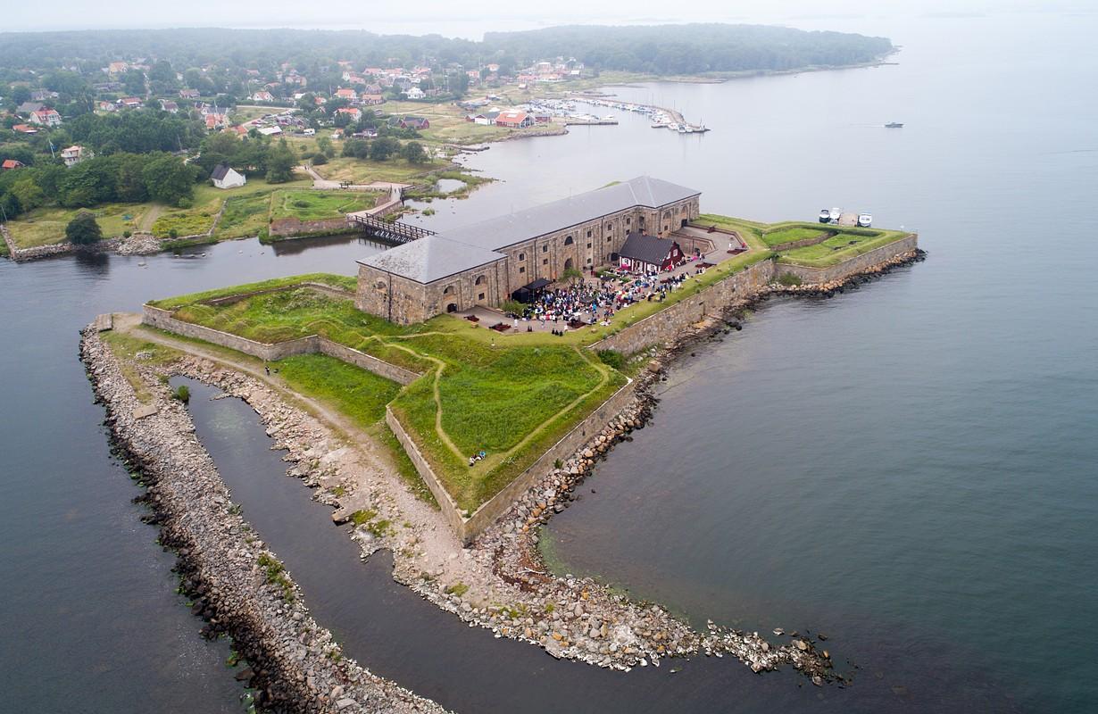 Drottningskärs Kastell Aspö Karlskrona