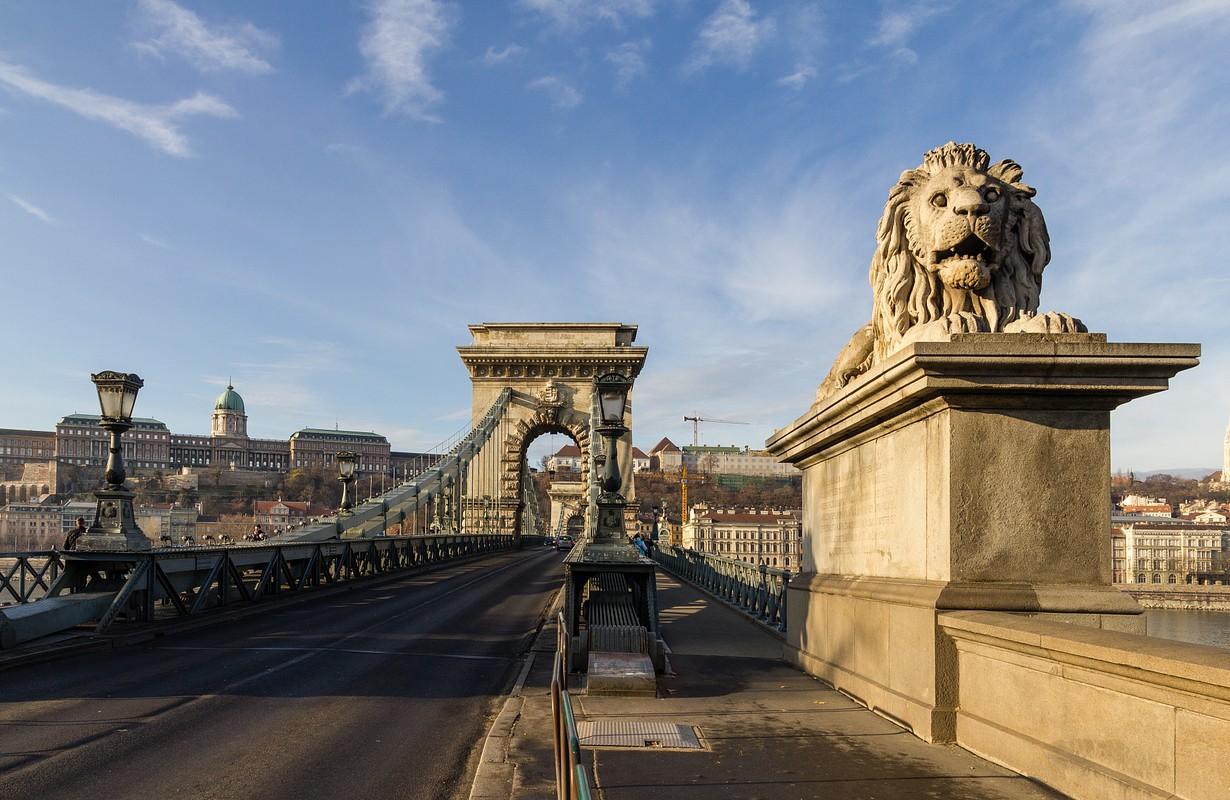 lánchíd chain bridge budapest