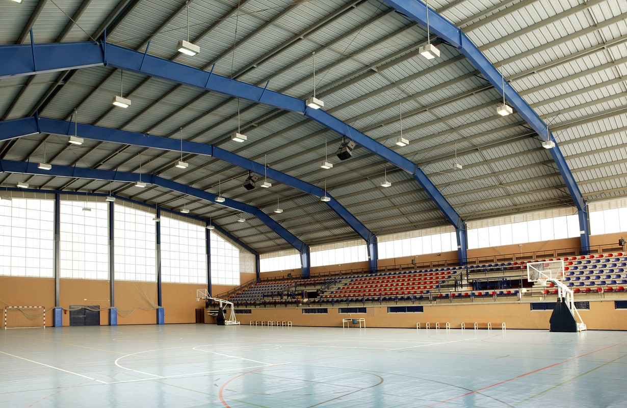 Sports hall at Randers Arena in Randers, Denmark