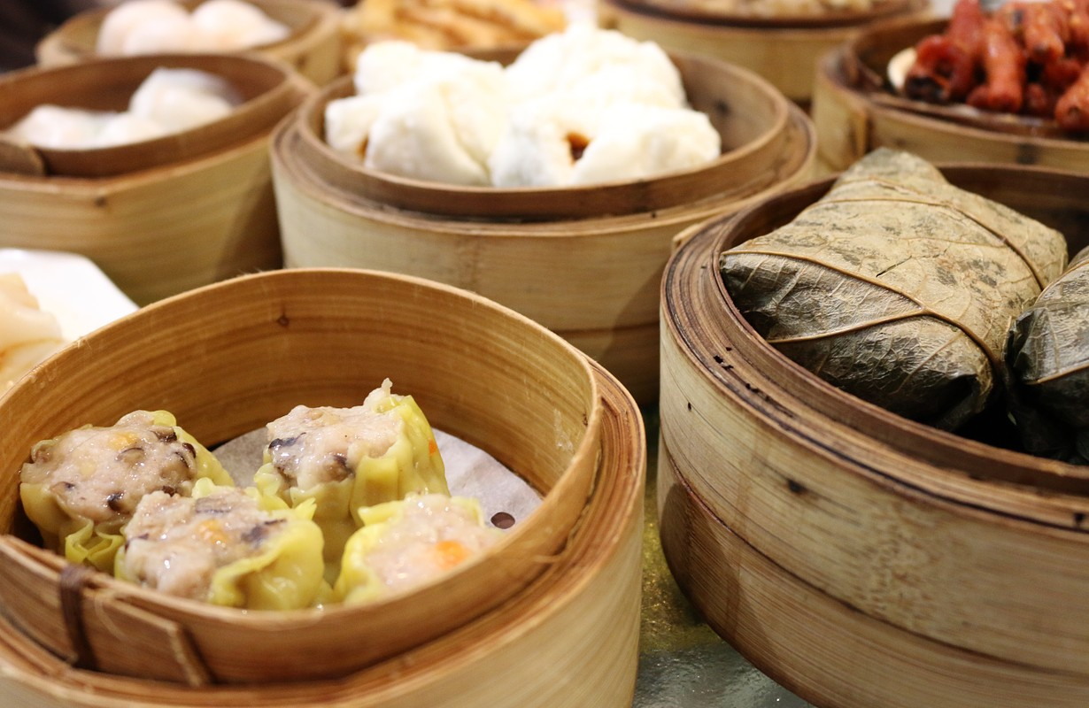 Different kinds of dumplings