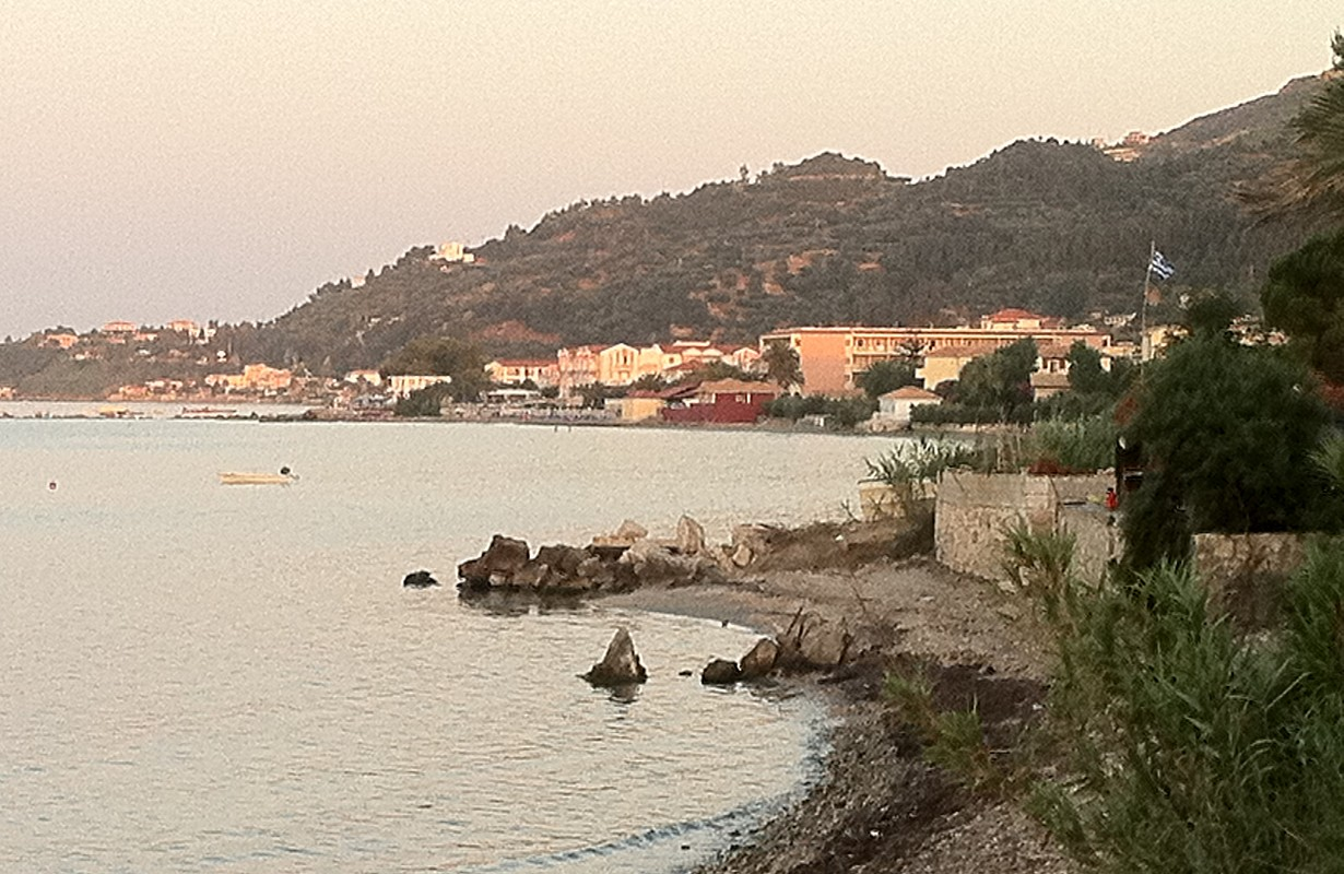 View towards Argassi, Zakynthos