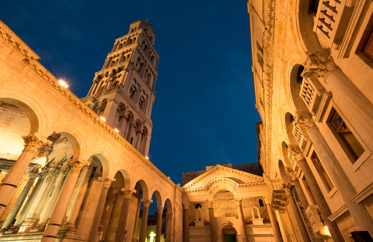 Split Cathedral and Diocletian Palace, Croatia