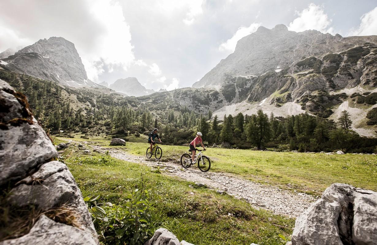 Mountainbike Seebensee