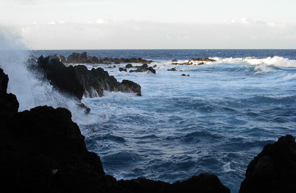 Coast at Laupahoehoe, Hamakua Coast, Hawaii