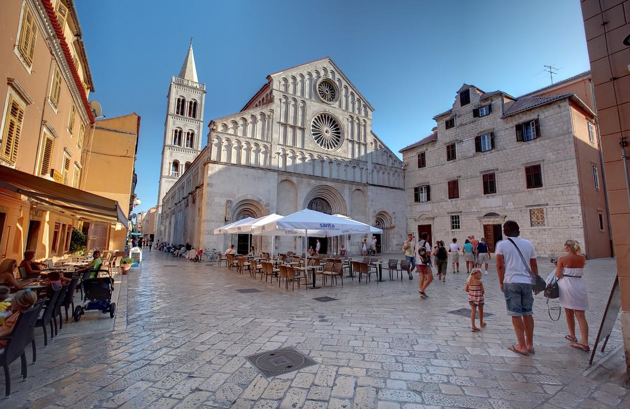 Zadar Cathedral by Tim Ertl