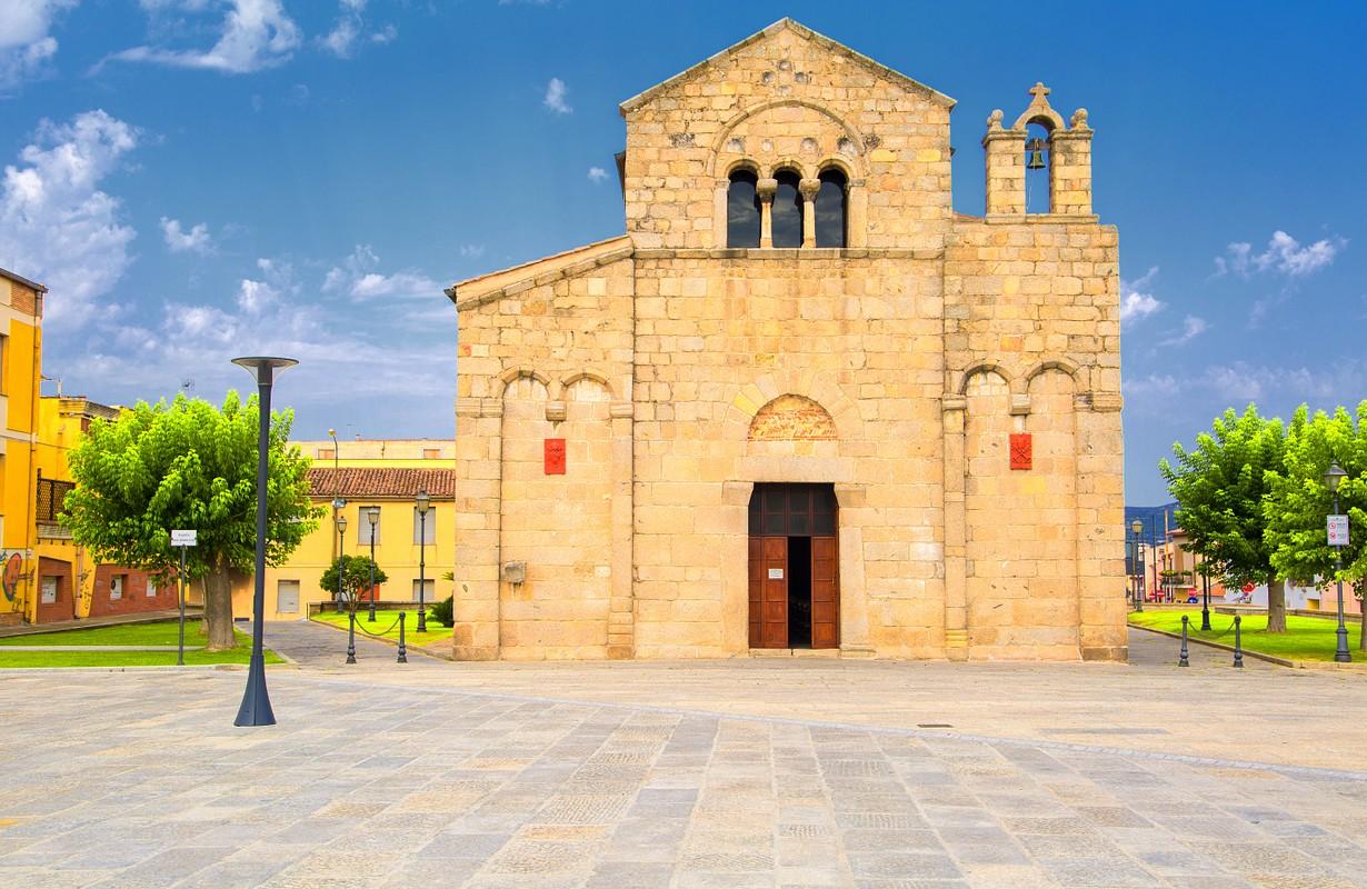 Church of San Simplicio in Olbia, Sardinia, Italy